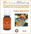 Colour Chakra Oil - Arancione - 10 ml
