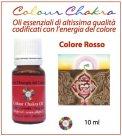 Colour Chakra Oil - Rosso - 10 ml