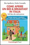 Come Aprire un Bed & Breakfast in Italia - Libro