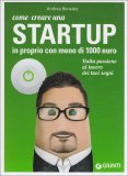 Come Creare una Startup in Proprio con Meno di 1000 Euro  - Libro