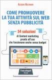 Come Promovuere la tua Attività sul Web senza Pubblicità - Libro