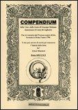 Compendium della Vita e delle Gesta di Giuseppe Balsamo denominato il Conte di Cagliostro