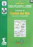 Comune di Castel Del Rio - Carta dei Sentieri n. 26 — Libro