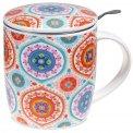 Confezione Regalo Mug Mandala - Tazza con Infusore