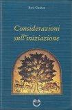 Considerazioni sull'Iniziazione