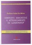 Contesti Educativi e Atteggiamenti di Leadership