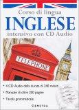 Corso di Lingua Inglese Intensivo con 4 CD Audio + Manuale + Tavola Grammaticale - Cofanetto