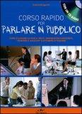 Corso Rapido per Parlare in Pubblico + CD Audio