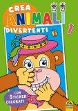Crea Animali Divertenti 1  - Libro