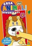 Crea Animali Divertenti 4  — Libro
