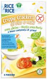 Crispy Crackers di Riso e Mais