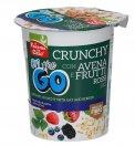 Crunchy con Avena e Frutti Rossi Bio - Monoporzione da 80 g