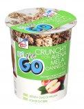 Crunchy con Avena, Mela e Cannella Bio - Monoporzione da 80 g