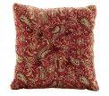 Cuscino per Campana Tibetana Rosso - Grande - 21cm