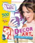 Decor Art - Violetta. 500 Adesivi  - Libro