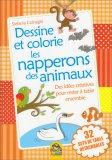 Dessine et Colorie Les Napperons Des Animaux - Libro