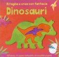 Dinosauri - Ritaglia e Crea con Fantasia — Libro