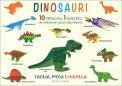 Dinosauri - Taglia, Piega e Incolla - Libro