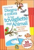 Disegna e Colora le tue Tovagliette degli Animali — Libro