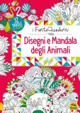 Disegni e Mandala degli Animali — Libro