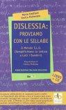 Dislessia: Proviamo con le Sillabe — Libro