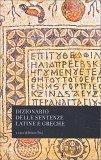Dizionario delle Sentenze Latine e Greche - Libro
