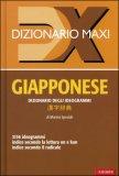 Dizionario Maxi - Giapponese — Libro
