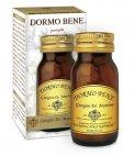 DORMO BENE - PASTIGLIE Integratore alimentare a base di triptofano, erbe e altri nutritivi.