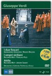 I Due Foscari - I Vespri Siciliani - Attila  - DVD
