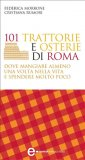 eBook - 101 Trattorie e Osterie di Roma dove Mangiare Almeno una Volta nella Vita e Spendere Molto Poco