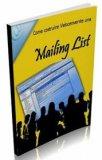 eBook - Come costruire velocemente una Mailing List