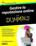 eBook - Gestire La Reputazione Online For Dummies - EPUB