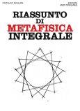 eBook - Riassunto di Metafisica Integrale - EPUB