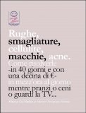 eBook - Rughe, Smagliature, Cellulite, Macchie, Acne