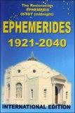 Ephemerides 1921-2040