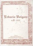 Erbario Volgare - A.D. 1522