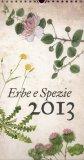 Erbe e Spezie - Calendario 2013