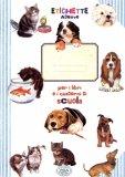 Etichette Adesive Scuola - Cani e Gatti