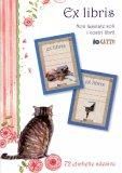 Ex Libris - Etichette Adesive Io Gatto