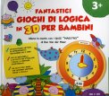 Fantastici Giochi di Logica in 3D per Bambini - 3 +