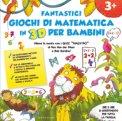 Fantastici Giochi di Matematica in 3D per Bambini