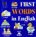 First Words in English — Libro