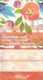 Floral - Green Line Calendars - Calendario Familiare 2018