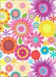Flower Fantasy - Magneto Blank Book - Grande - Diario