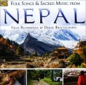 Folk Song and Sacred Music From Nepal - CD