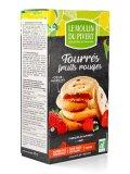 Biscotti Ripieni ai Frutti Rossi - Fourrés Fruites Rouges - 10 biscotti