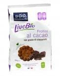 Frollini al Cacao Livebio con Gocce di Cioccolato