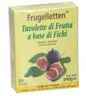 Frugelletten - Tavolette di Frutta a Base di Fichi - 24 Tavolette