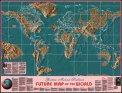 Cartina Geografica Mondiale del Futuro