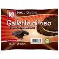 Gallette di Riso con Cioccolato Extrafondente